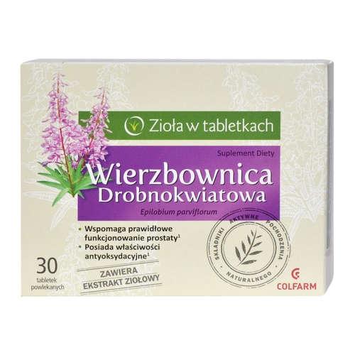 Wierzbownica drobnokwiatowa - tabletki, 30 sztuk