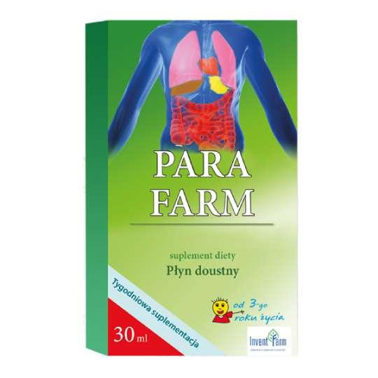 Para Farm - suplement diety, płyn doustny od 3. roku życia, 30ml