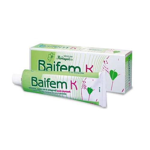 BAIFEM K - ochronno-kojący żel do pielęgnacji okolic intymnych, 40 g